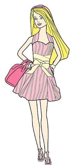 Titel afbeelding Barbie Color Step 12