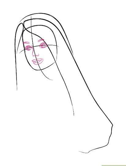 Titel afbeelding Barbie Face Step 3