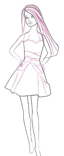 Titel afbeelding Barbie Details Step 8