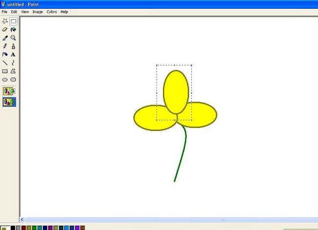 Titel afbeelding Draw a Flower in Microsoft Paint Stap 11