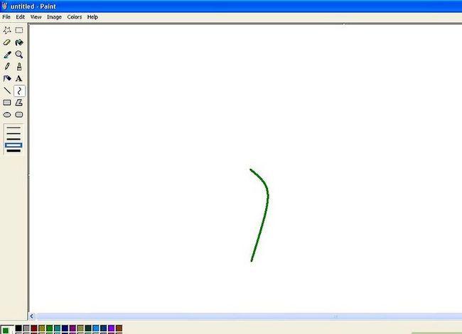 Titel afbeelding Draw a Flower in Microsoft Paint Stap 2