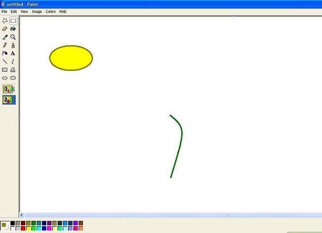 Titel afbeelding Draw a Flower in Microsoft Paint Stap 3