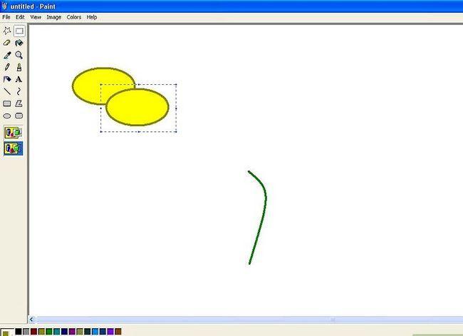 Titel afbeelding Draw a Flower in Microsoft Paint Stap 4