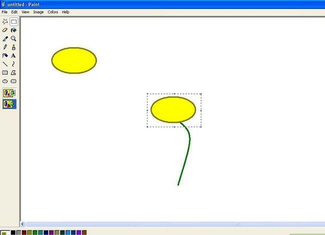 Titel afbeelding Draw a Flower in Microsoft Paint Stap 5