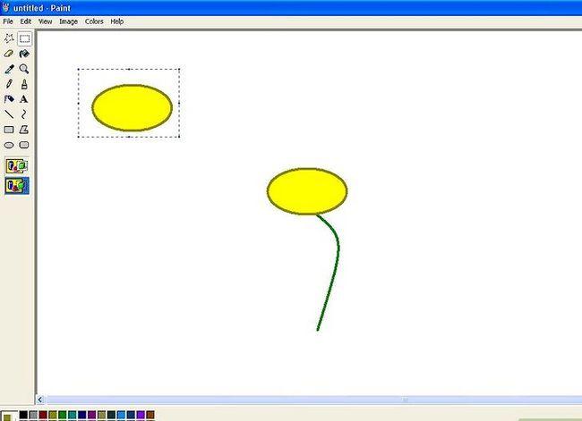 Titel afbeelding Draw a Flower in Microsoft Paint Stap 6