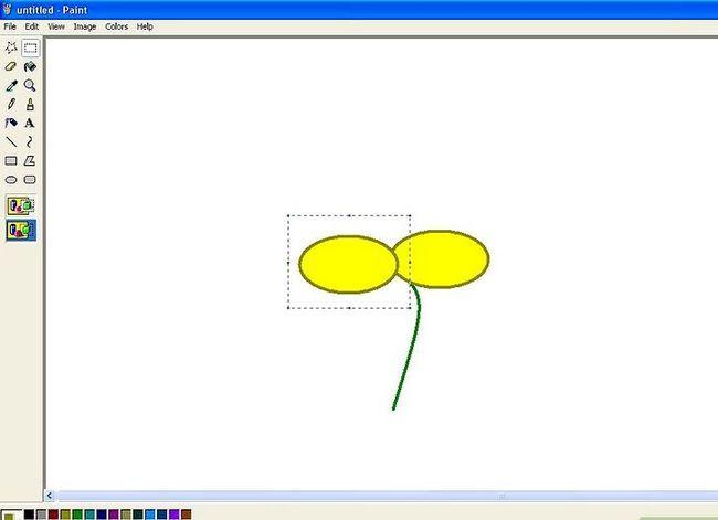 Titel afbeelding Draw a Flower in Microsoft Paint Stap 7