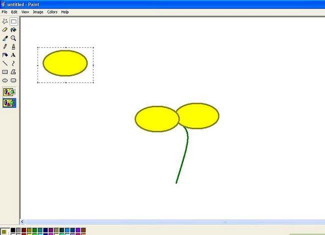 Titel afbeelding Draw a Flower in Microsoft Paint Stap 8