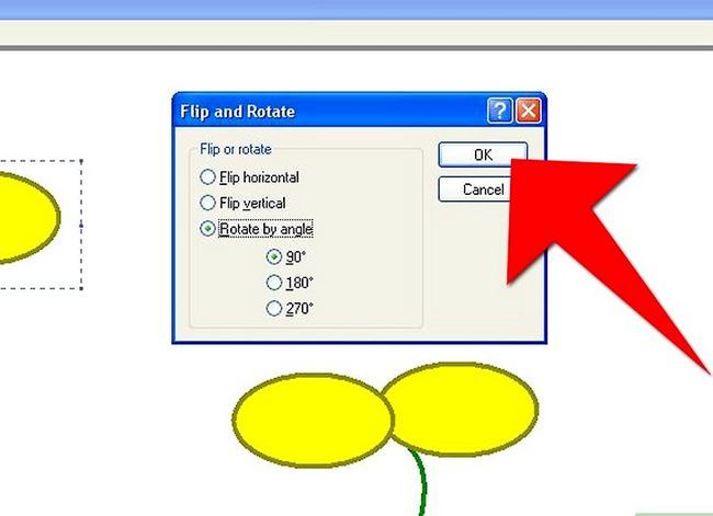 Titel afbeelding Draw a Flower in Microsoft Paint Stap 9