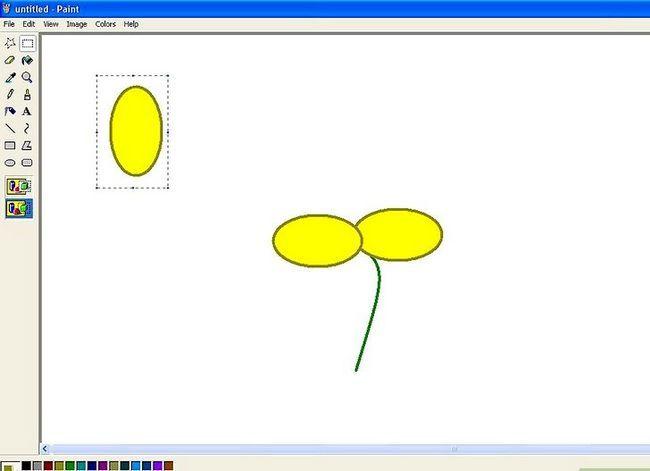 Titel afbeelding Draw a Flower in Microsoft Paint Stap 10