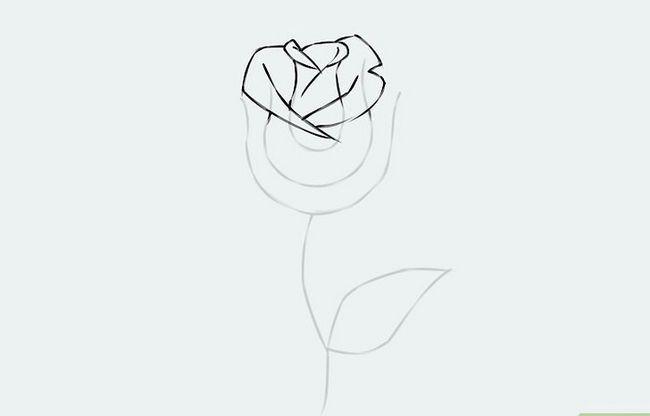 Titel afbeelding Draw a Flower Step 5