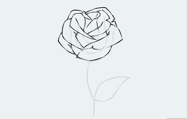 Titel afbeelding Draw a Flower Step 7