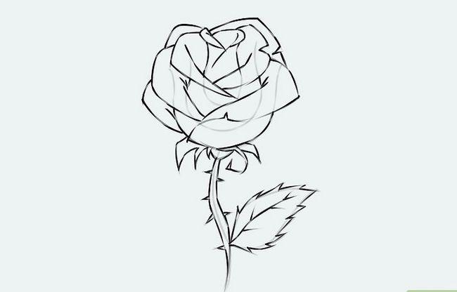 Titel afbeelding Draw a Flower Step 9