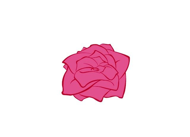 Titel afbeelding Draw Flowers Step 5