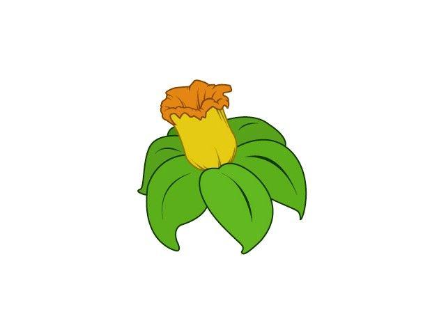 Titel afbeelding Draw Flowers Step 10