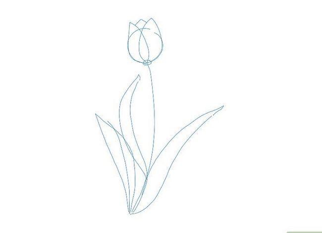 Titel afbeelding Draw a Flower Step 12