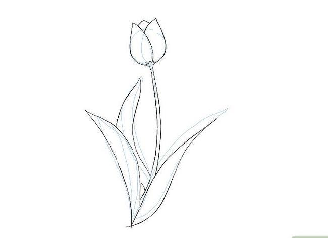 Titel afbeelding Draw a Flower Step 14