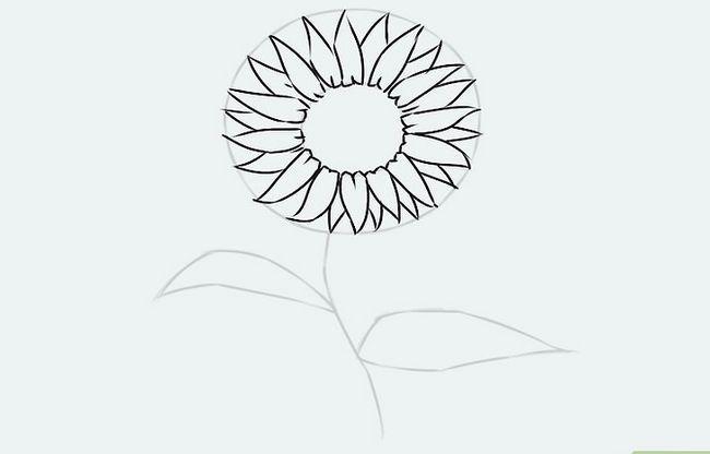 Titel afbeelding Draw a Flower Step 15