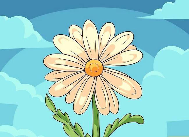 Titel afbeelding Draw Flowers Step 29