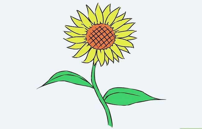 Titel afbeelding Draw a Flower Step 18