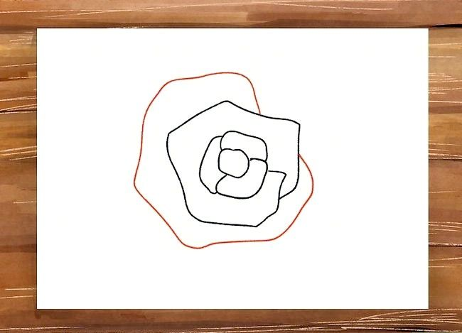 Titel afbeelding Draw a Rose Step 6