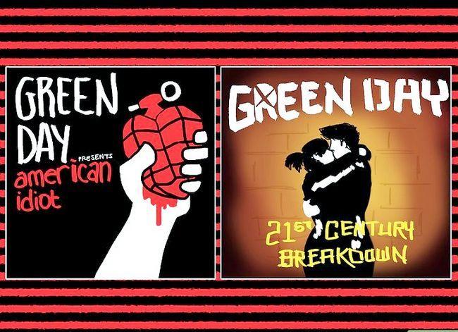 Titel afbeelding Go As Billie Joe Armstrong (of Green Day) voor Halloween Stap 1