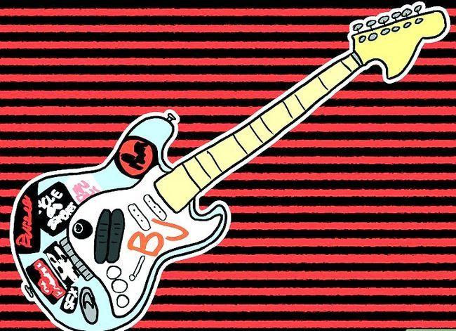 Titel afbeelding Go As Billie Joe Armstrong (of Green Day) voor Halloween Stap 5