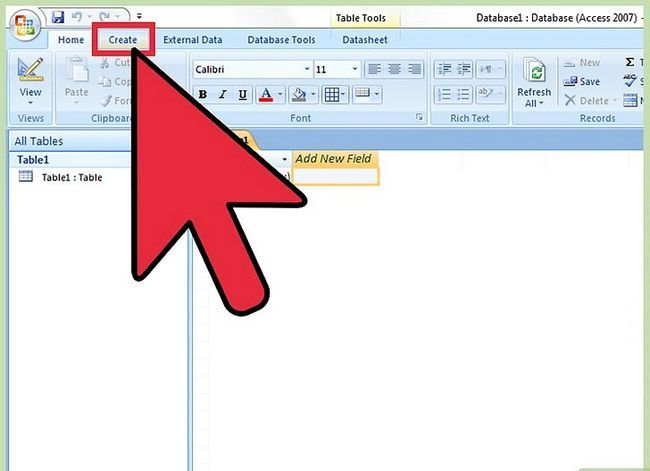 Titel afbeelding Run a Query in MS Access 2007 Stap 2