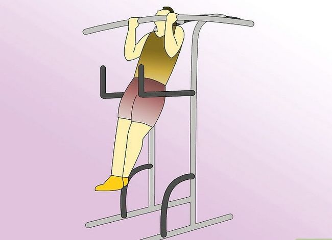 Titel afbeelding Work Abdominals With the Captain`s Chair Step 8