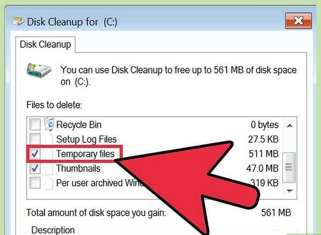Afbeelding met de titel Tijdelijke bestanden verwijderen en Prefetch-bestanden van uw computer verwijderen Stap 3