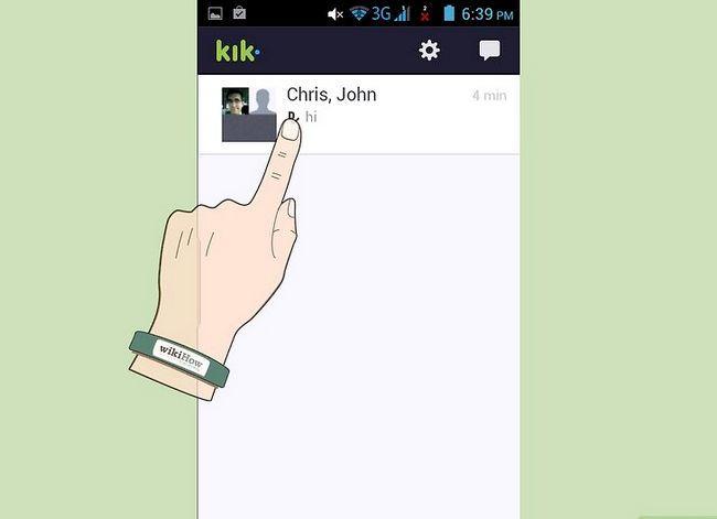Titel afbeelding Delete Conversations on Kik Step 2