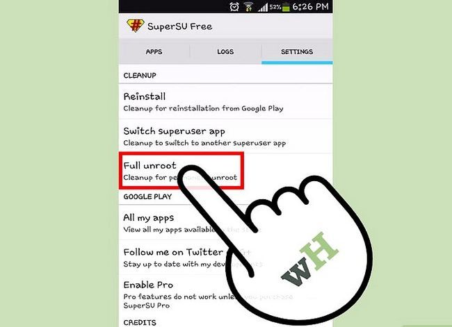 Titel afbeelding Unroot Android Step 12