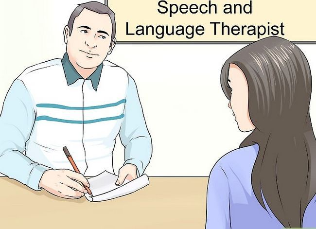 Titel afbeelding Get Rid of a Speech Disorder Step 9