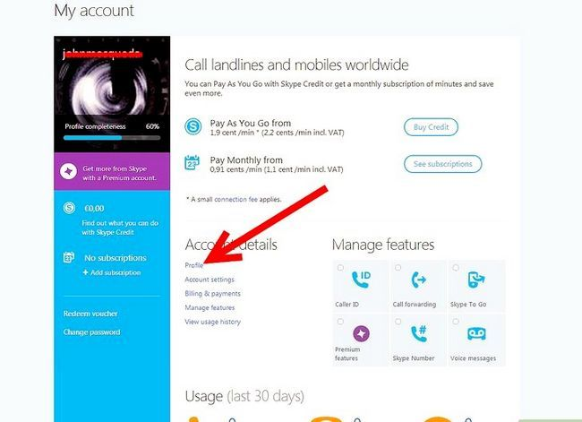 Titel afbeelding Add Another Email Address op Skype Step 2
