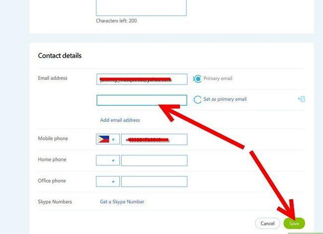 Titel afbeelding Een e-mailadres van een Skype-account verwijderen Stap 4