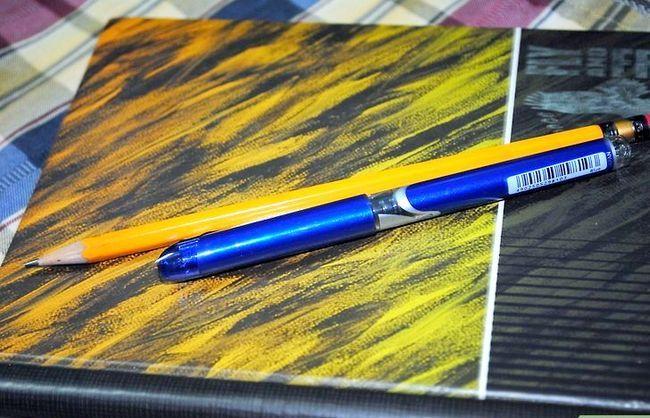 Titel afbeelding Zorg dat je pennen en potlood hebt Stap 2