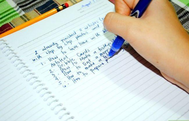 Titel afbeelding Just write Step 4