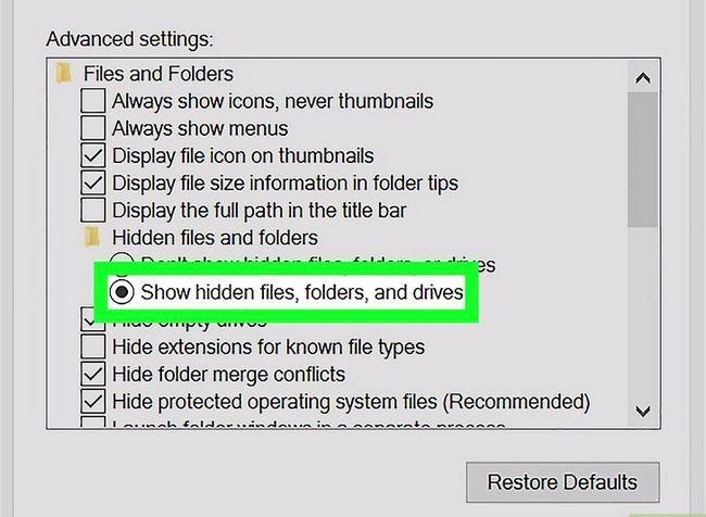 Titel afbeelding Find Hidden Files and Folders in Windows Step 5