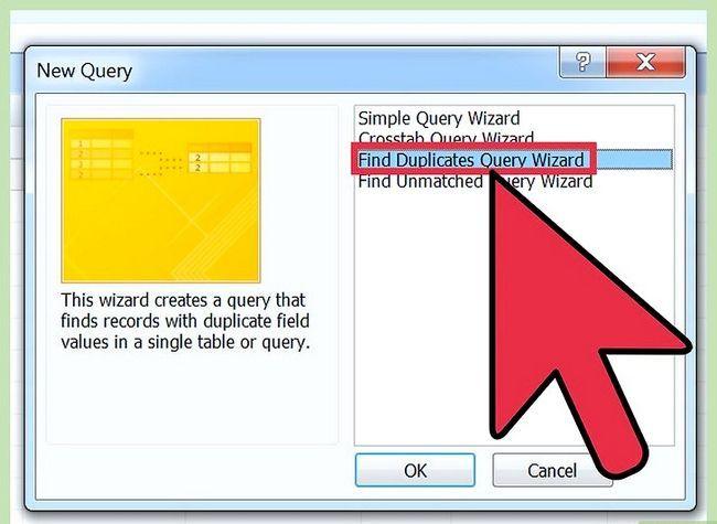 Titel afbeelding Eenvoudig Duplicaten vinden in Microsoft Access Stap 5