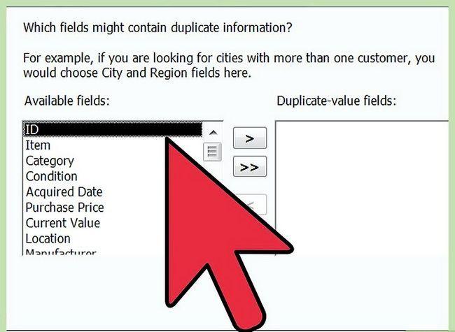 Titel afbeelding Eenvoudig Duplicaten zoeken in Microsoft Access Stap 7