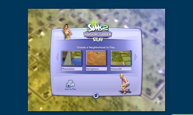 Titel afbeelding Find a Mate in the Sims 2 Step 1