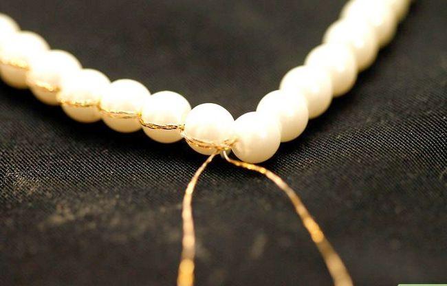 Titel afbeelding String Pearls Step 10