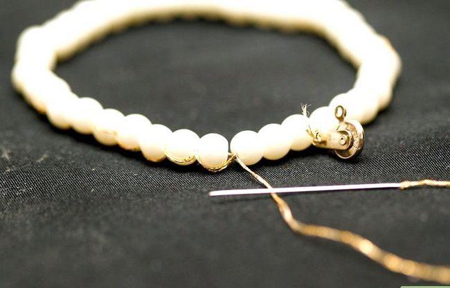 Titel afbeelding String Pearls Step 11