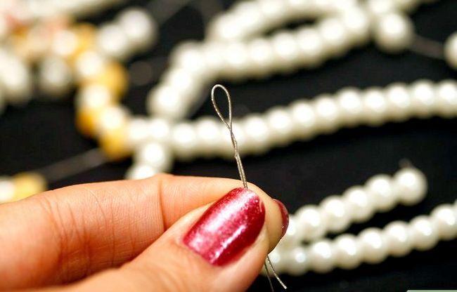 Titel afbeelding String Pearls Step 4