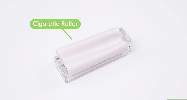 Titel afbeelding Roll a Cigarette With a Cigarette Roller Step 2