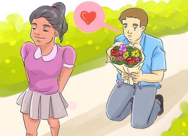 Titel afbeelding Give Easy to Notice Borden naar een meisje Je houdt van stap 16