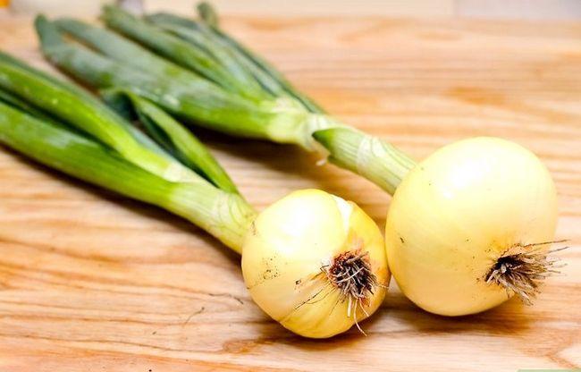 Titel afbeelding Tell the Difference Between lente-uitjes, sjalotten en groene uien Stap 2