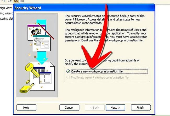 Titel afbeelding Establish User Level Security in Microsoft Access Step 2Bullet1