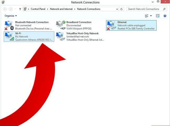 Titel afbeelding Bridge a Connection on Windows 8 Stap 3