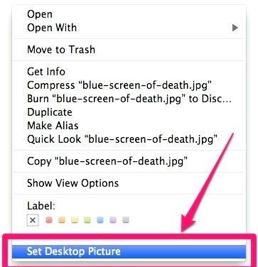 Titel afbeelding SetDesktopPicture Step 2
