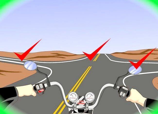 Hoe u rechtsaf slaat met een motorfiets